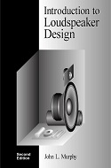 Introduction to Loudspeaker Design, Front Cover
